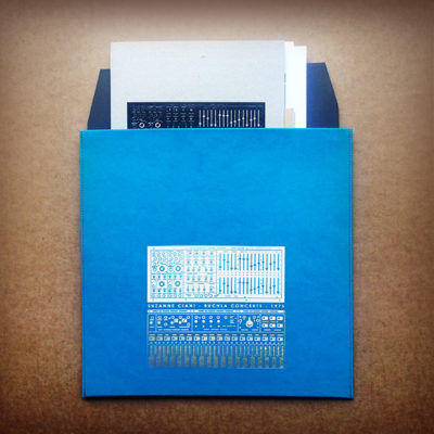 SUZANNE CIANI BUCHLA CONCERTS 1975 PLEATHER SLEEVE