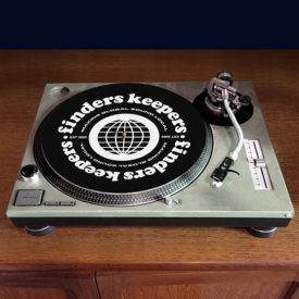 FK slipmat black 600x600