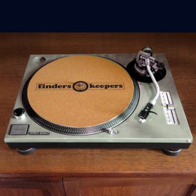 Finders Keepers cork turntable mat (single)