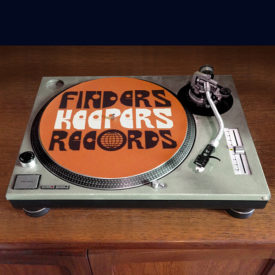 Finders Keepers slipmat orangeDJ