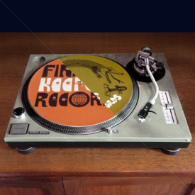 Finders Keepers slipmats (Orange And Green) PAIR