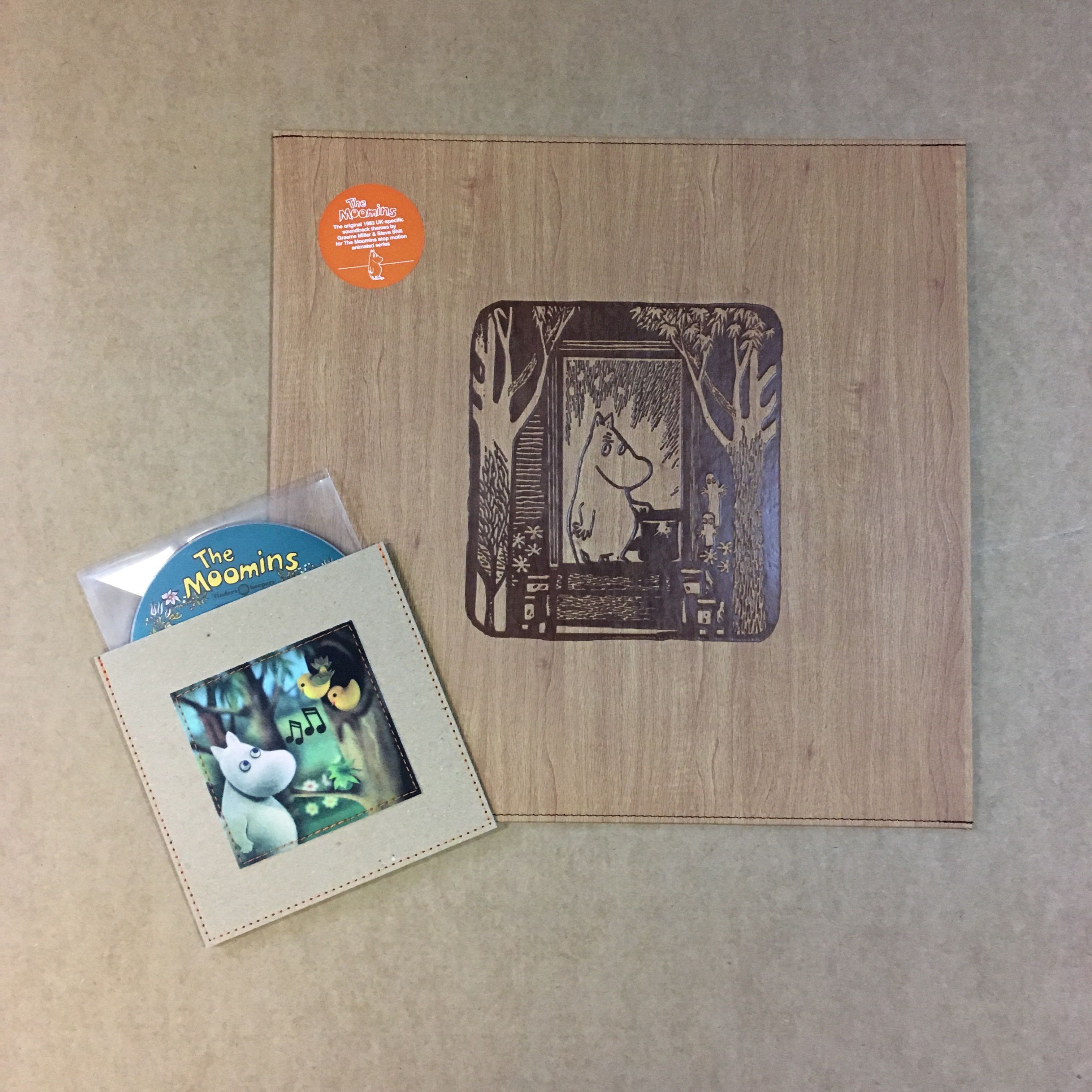 The Moomins (Limited Edition Timber House Beech Design)